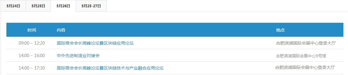 """2018世界制造业大会暨徽商大会官方日程公布 坐等""""黑科技""""亮相"""